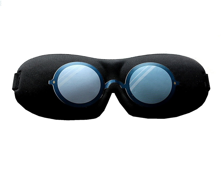 3D маска за сън с очила