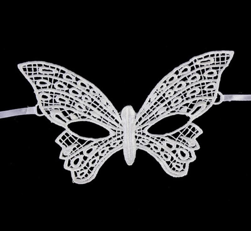 Бяла маска пеперуда