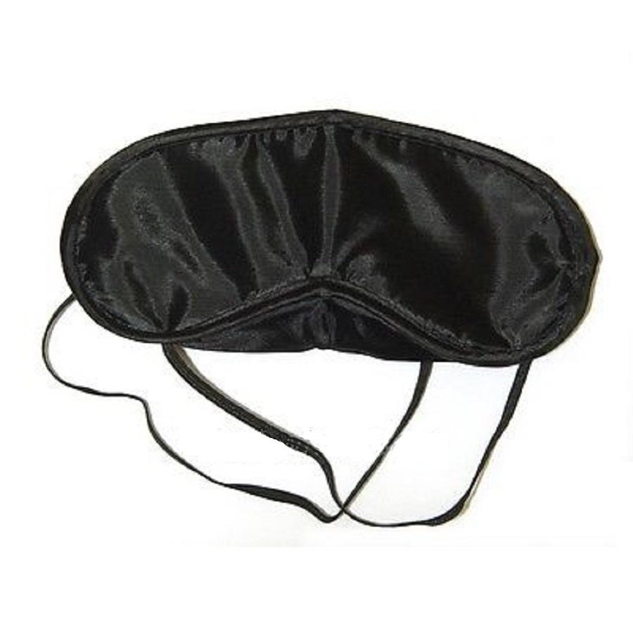 Черна маска за сън
