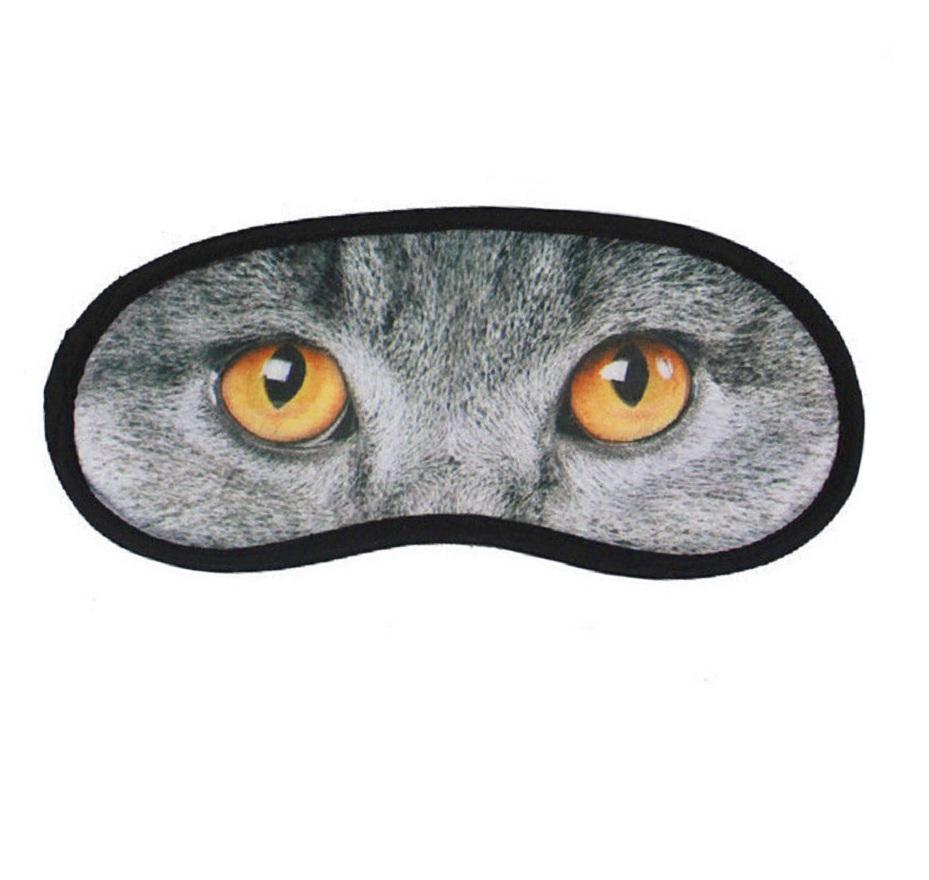 Маска за сън с 3D очи