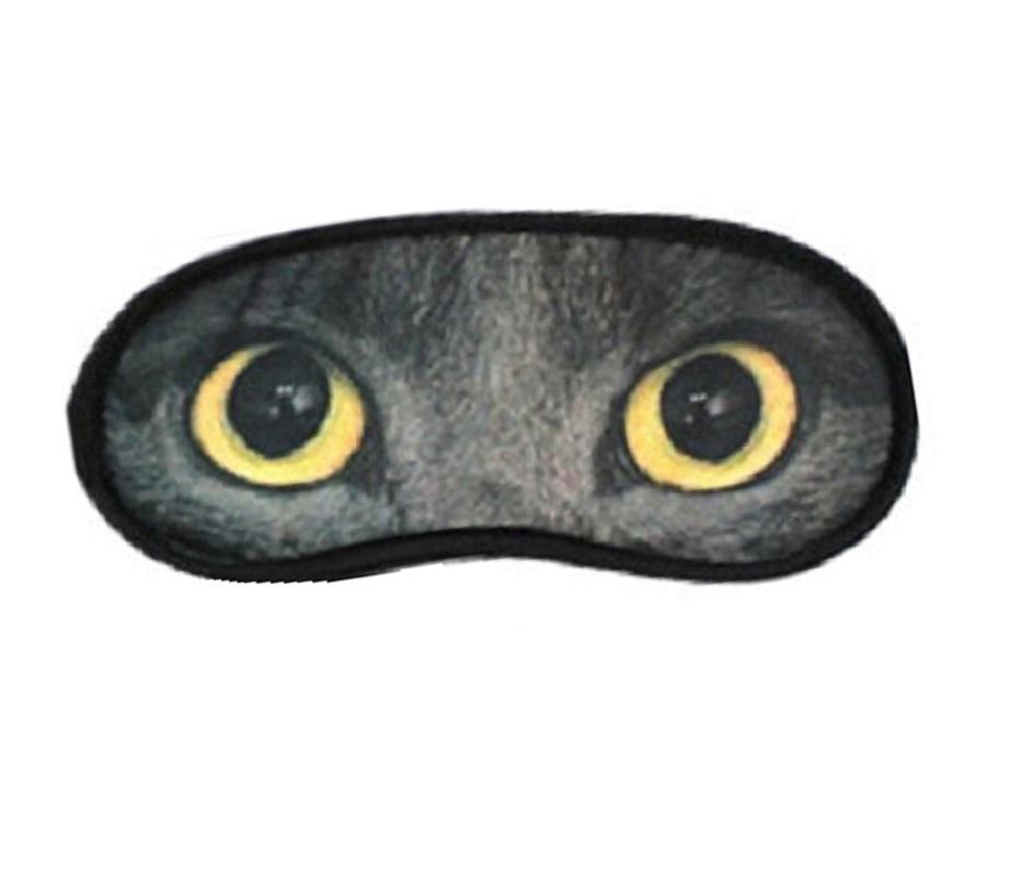 Маска за сън с очи на британска котка