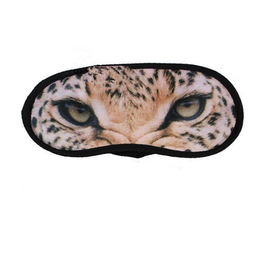 Маска за спане с леопардови очи