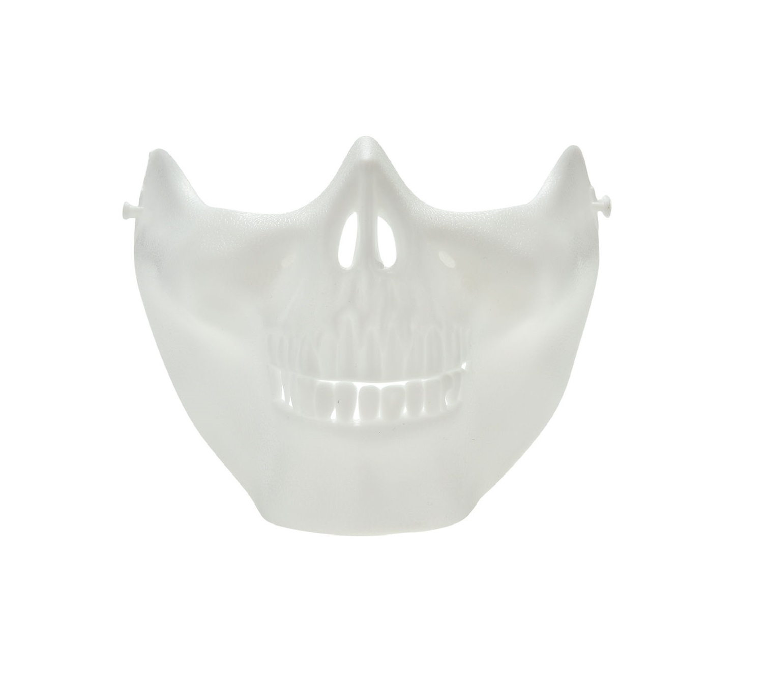 Бяла пейнтбол маска