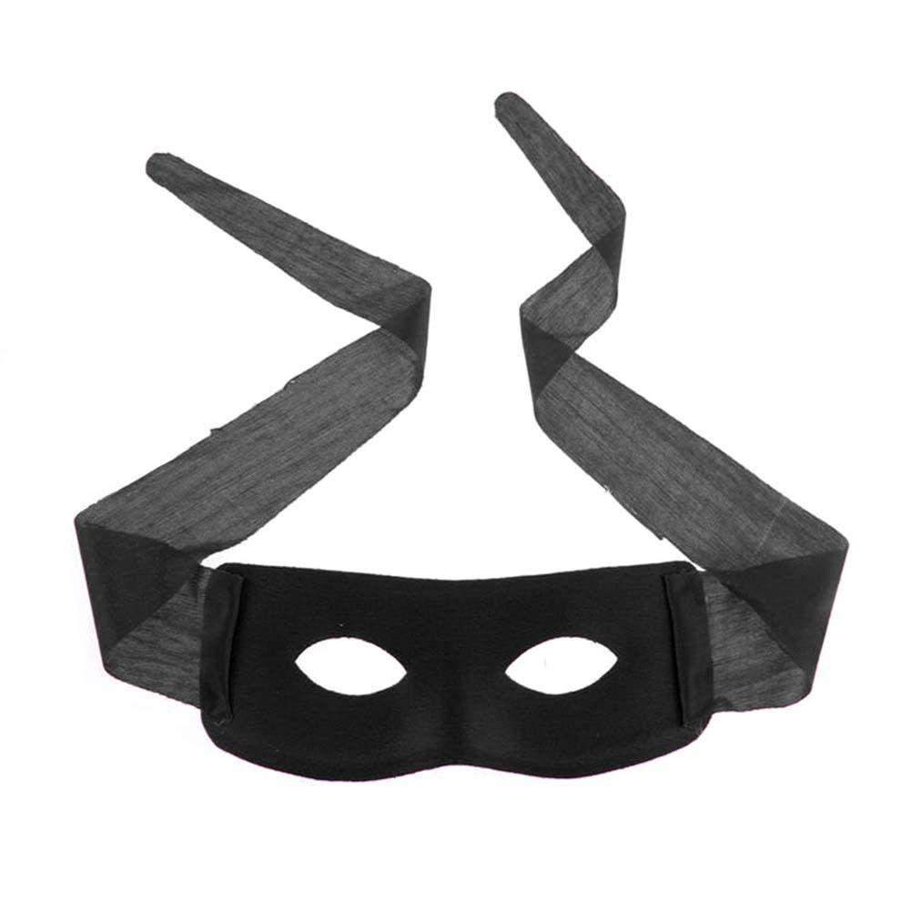 Черна карнавална маска на Зоро