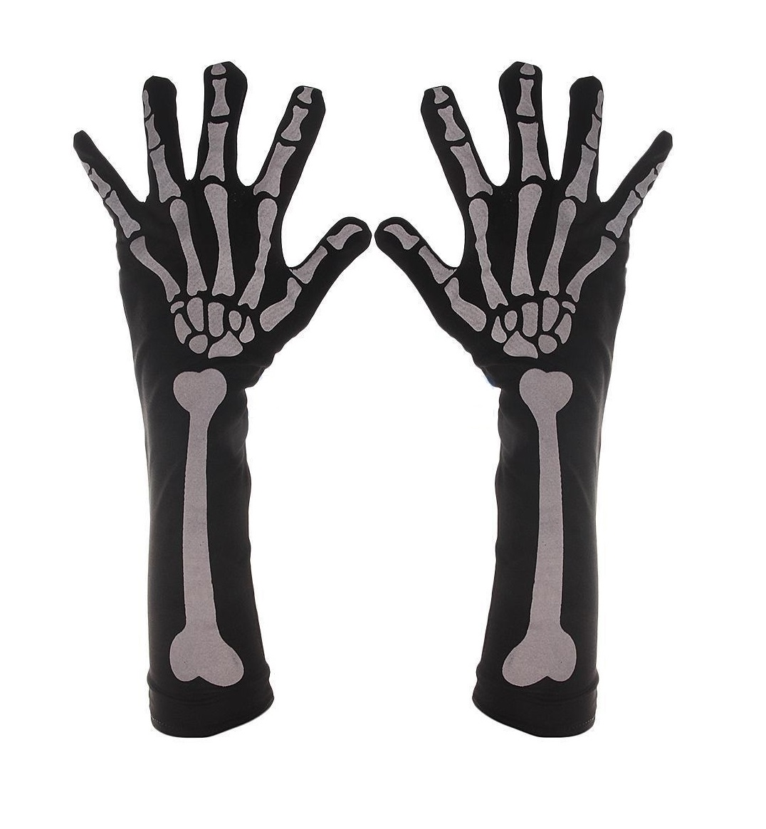 Дълги дамски ръкавици за Хелоуин