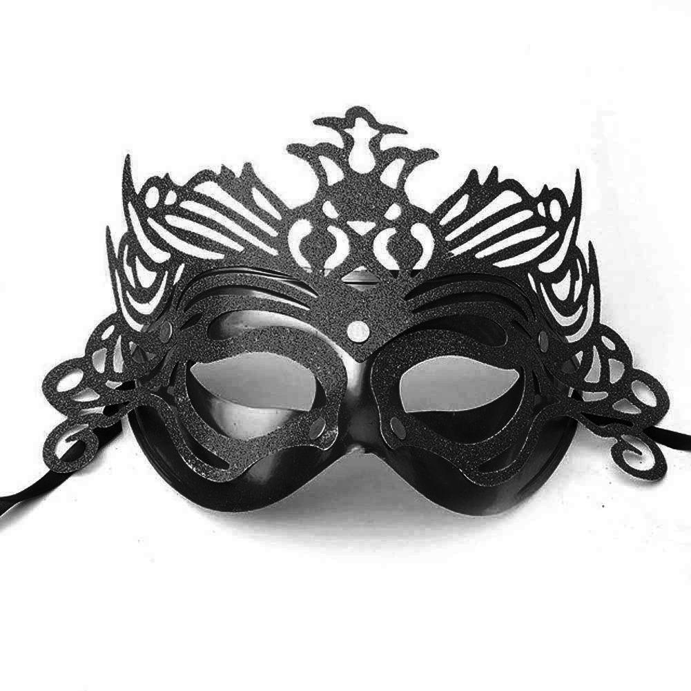 Домино маска с капси и брокат