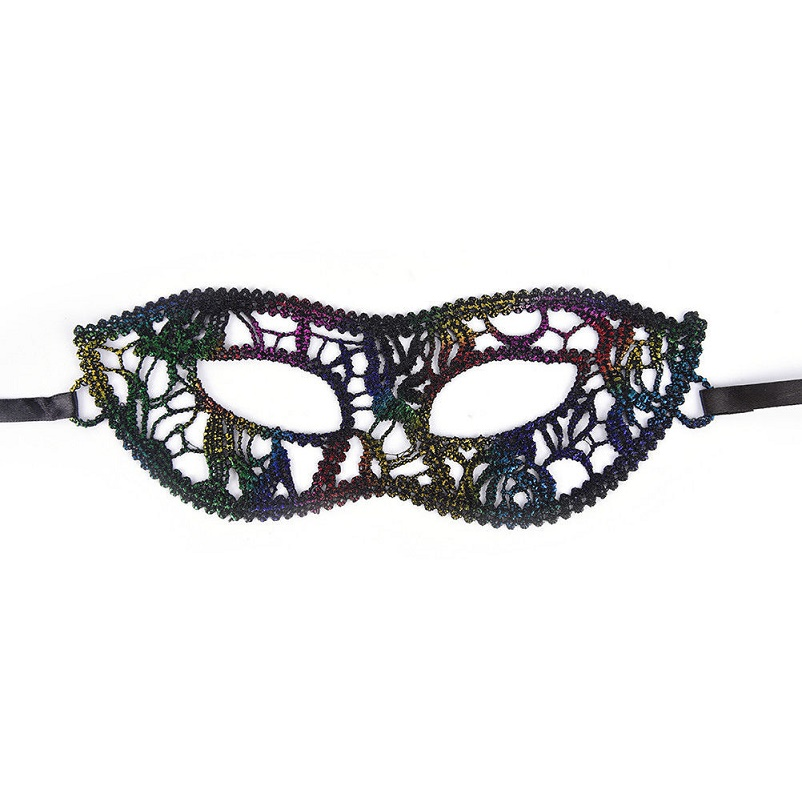 Домино цветна маска