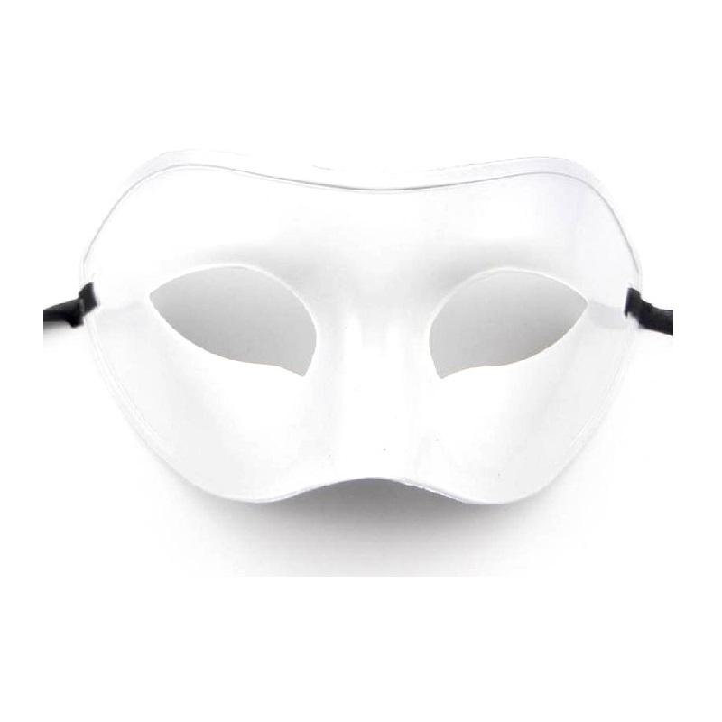 Хелоуин маска бяла