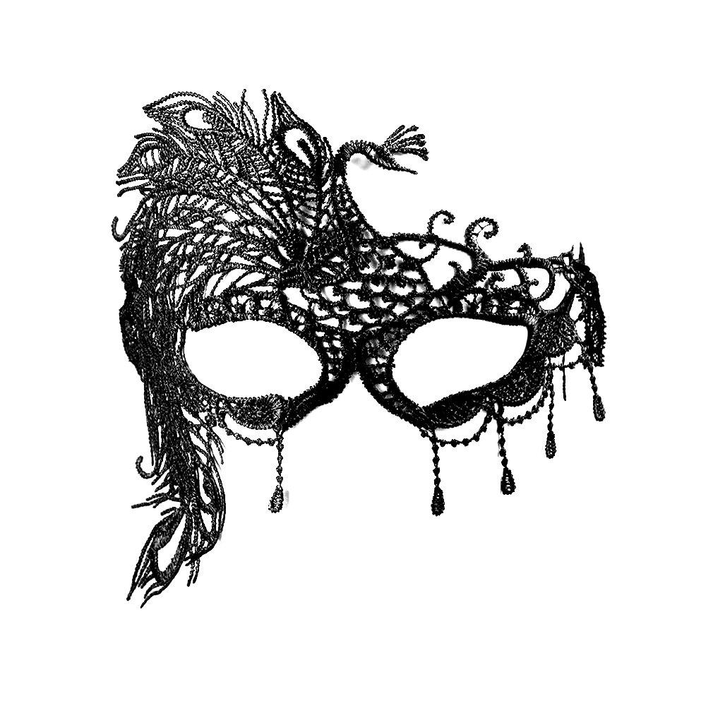 Карнавална маска паун