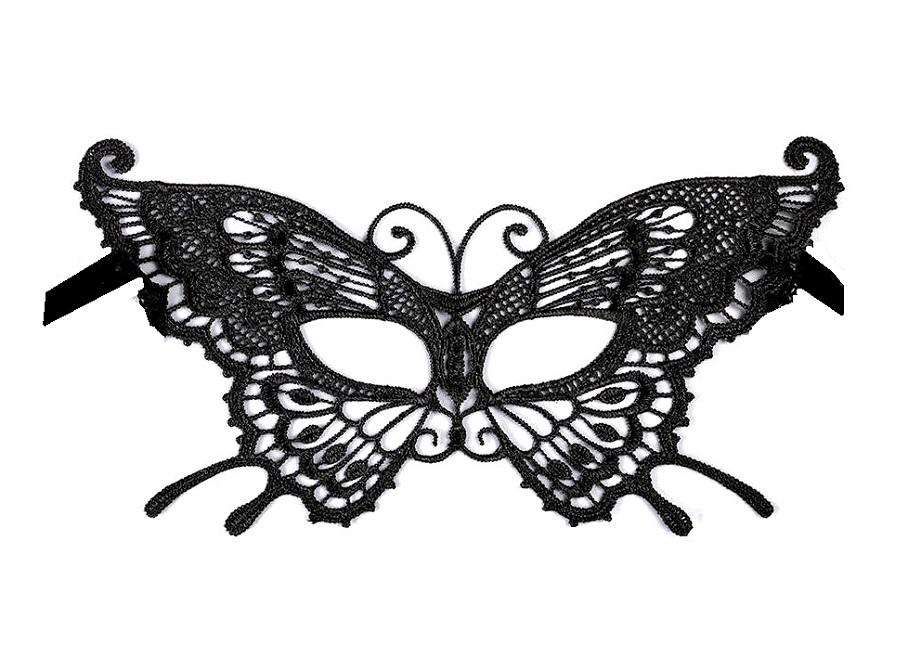 Карнавална маска за очи пеперуда