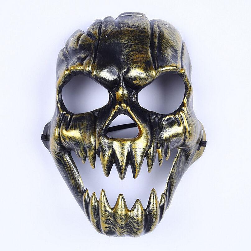 Твърда маска за Хелоуин злато
