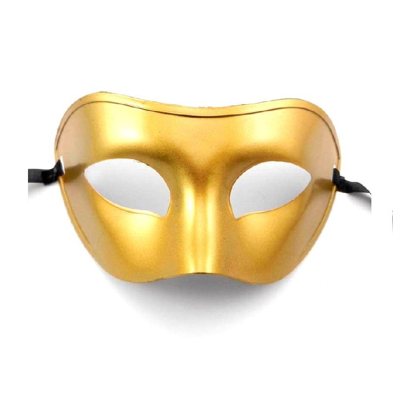 Златна домино маска