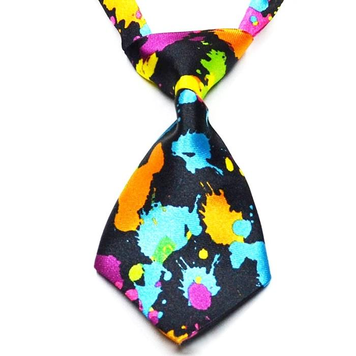 Цветна вратовръзка за животни