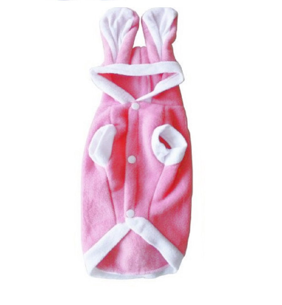Заешки костюм в розов цвят