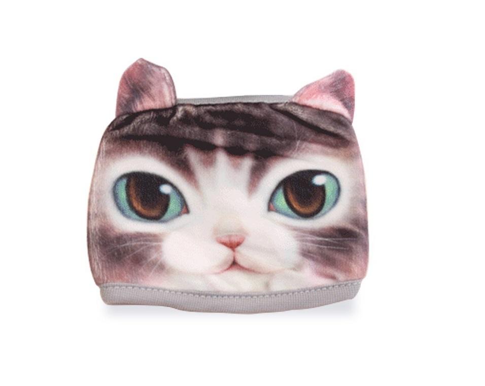 Антипрахова маска с принт котка