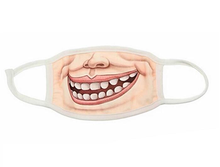 Усмихната маска против прах