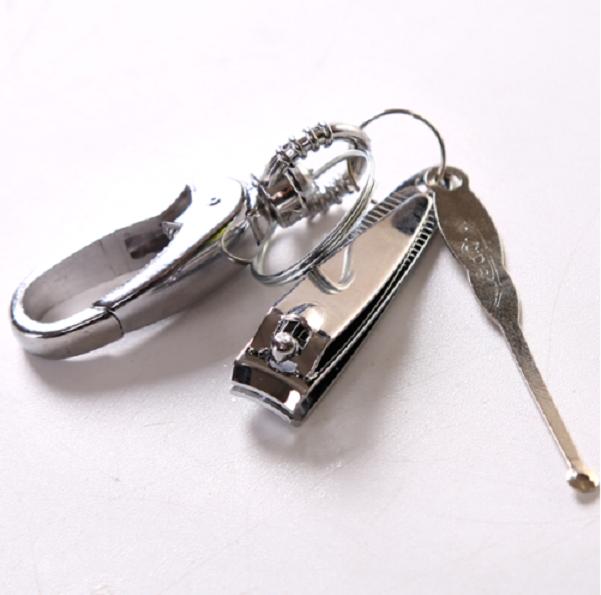 Ключодържател с нокторезачка и лопатка