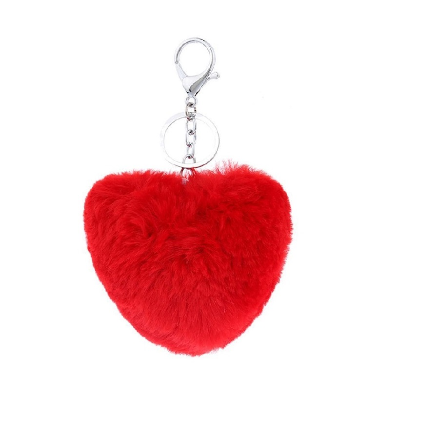 Ключодържател сърце - червен