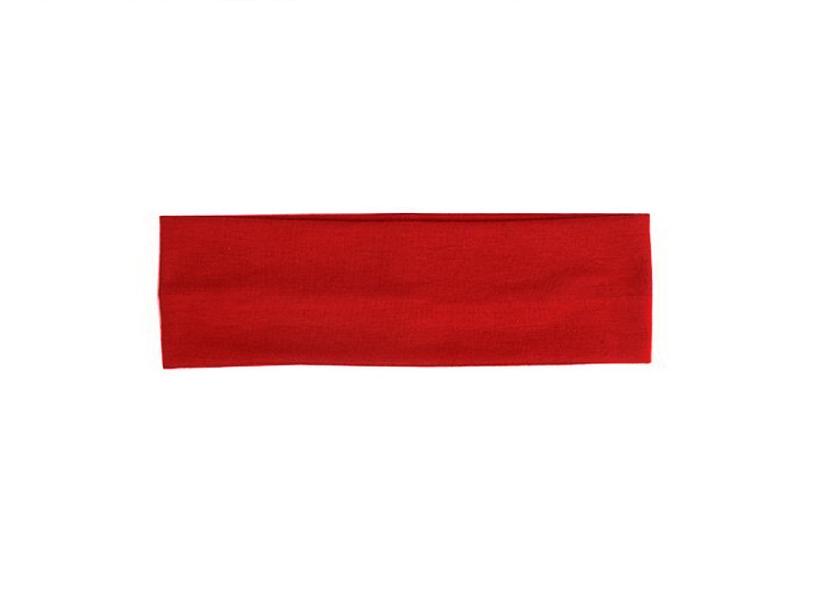 Червена лента за глава