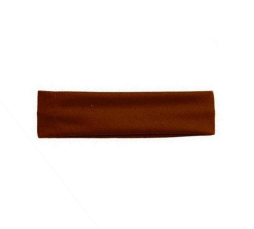 Еластична лента за глава кафява