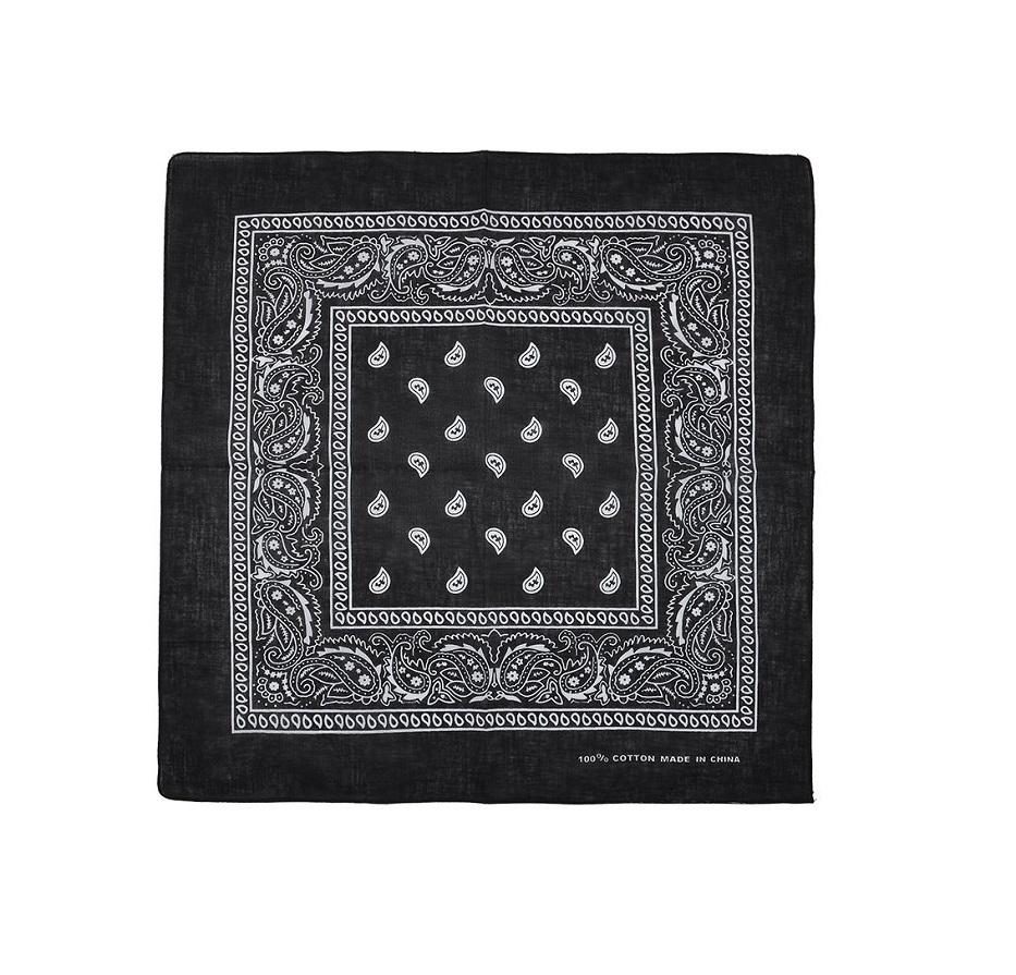 Кърпа за глава черна