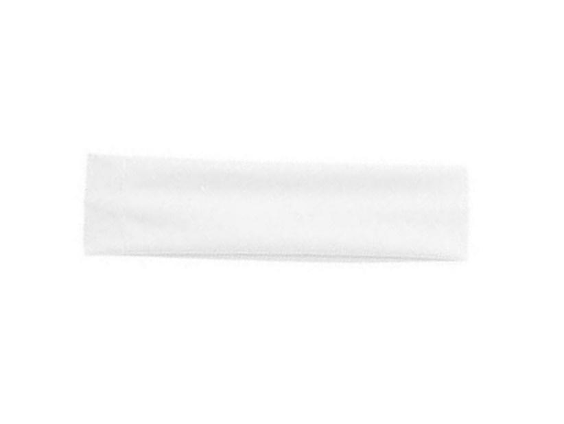 Микрофибърна лента за глава бяла