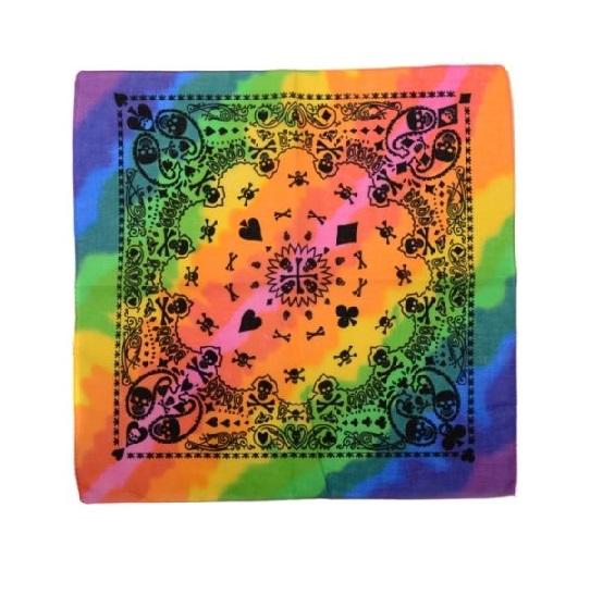 Многоцветна кърпа за глава
