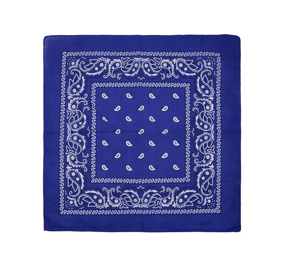 Синя каубойска кърпа