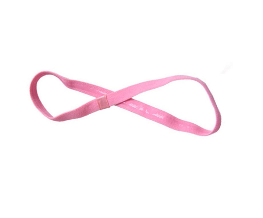 Спортно елегантна лента в бебешко розово