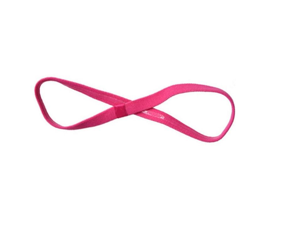 Спортно елегантна лента в електриково розово