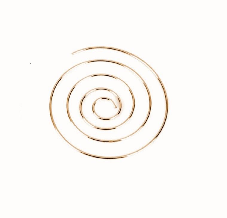Спирала обеца за ухо