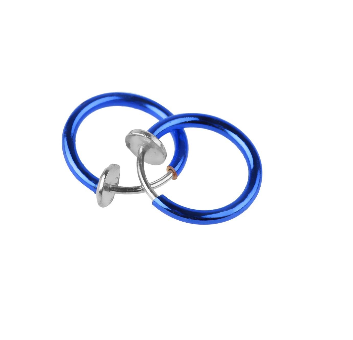 Синя халка с пружина