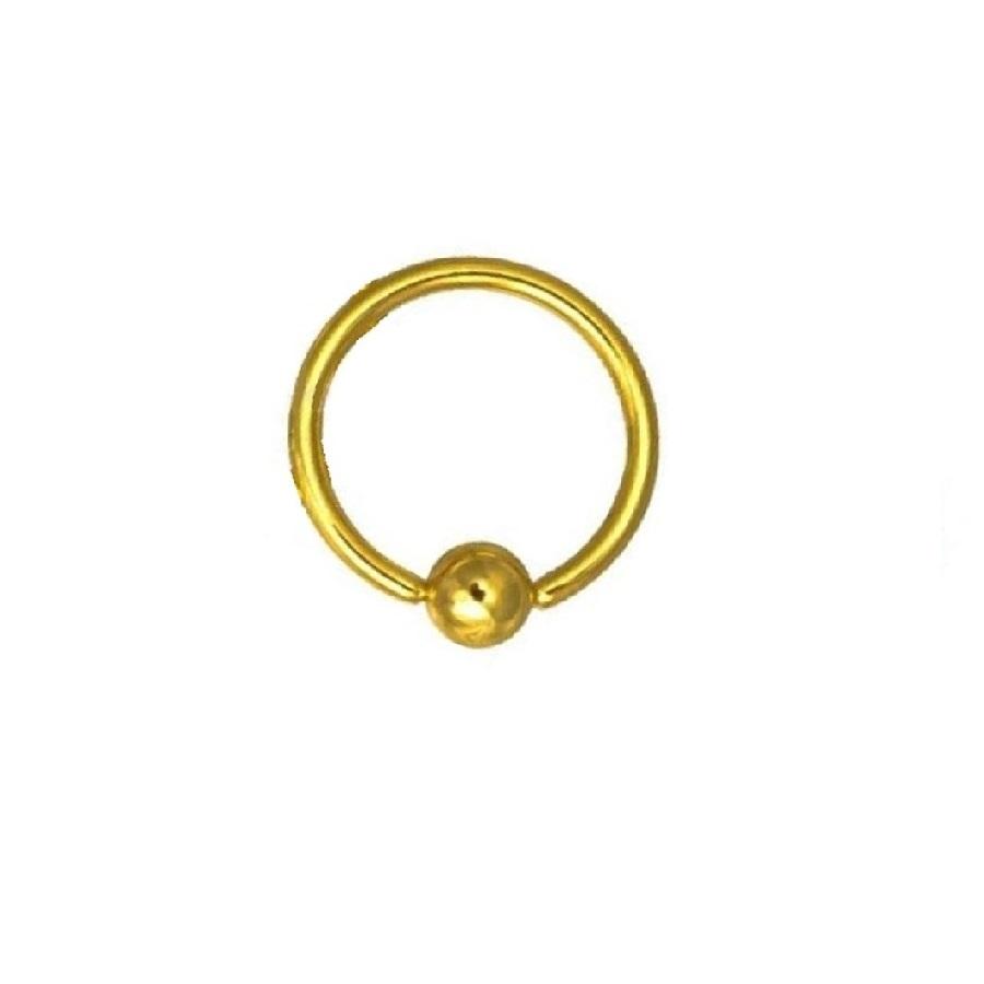 Имитираща злато халка за тяло