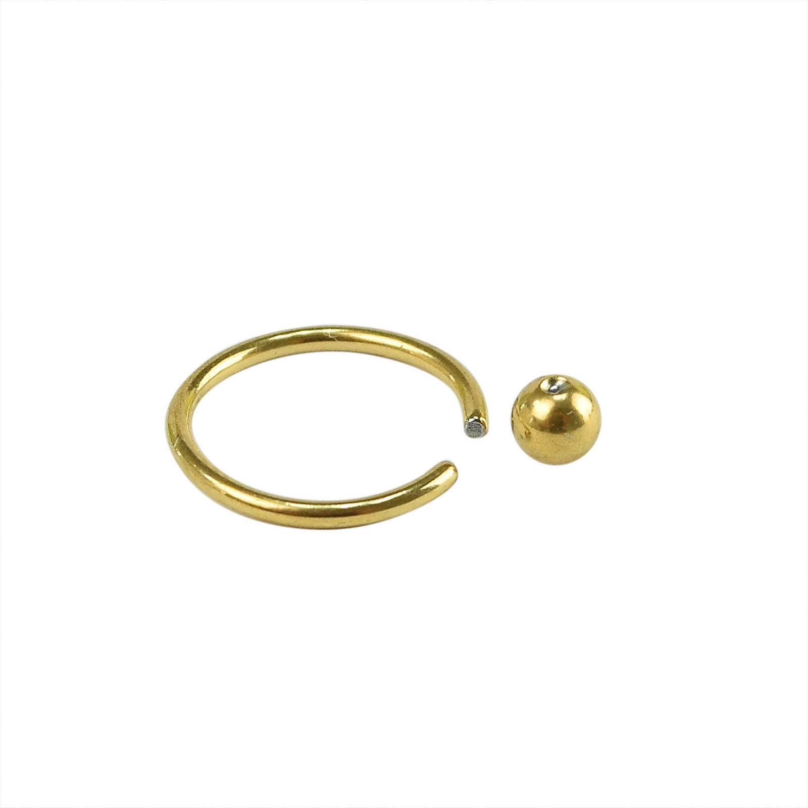Жълта обеца имитация на злато