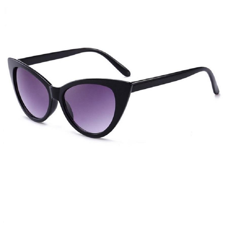 Черни котешки очила черни към светло стъкла
