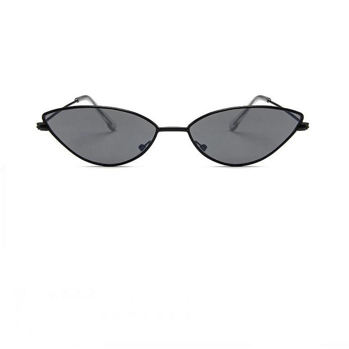 Черни котешки очила черни рамки