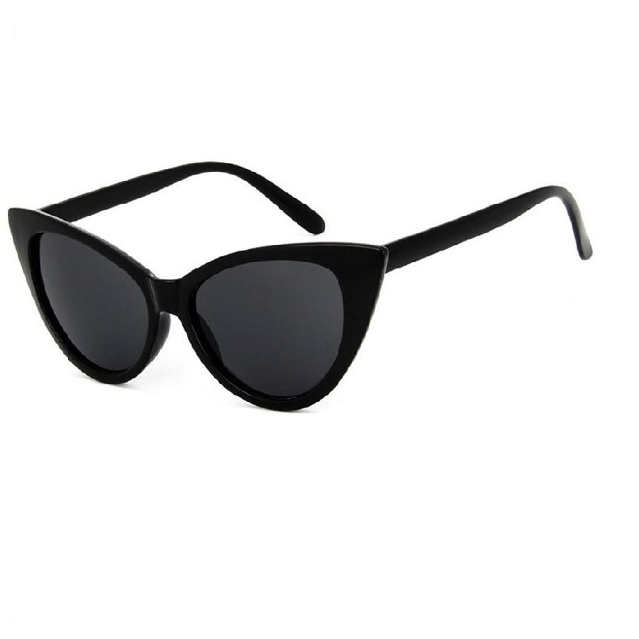 Слънчеви черни котешки очила