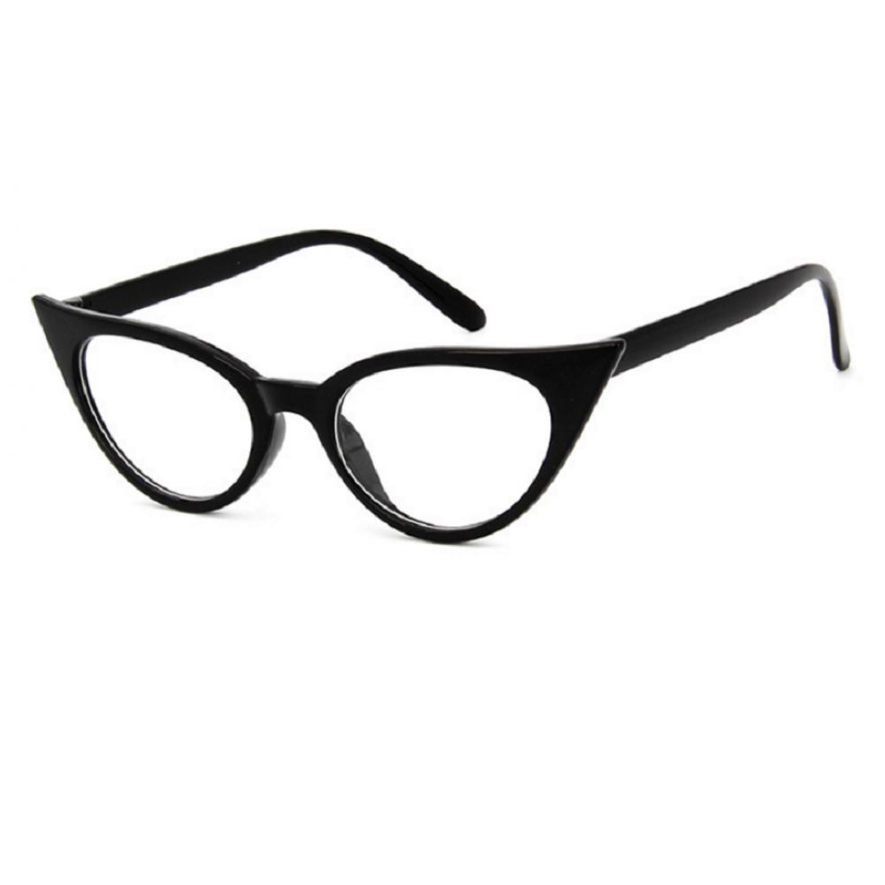 Универсални стилни прозрачни котешки очила