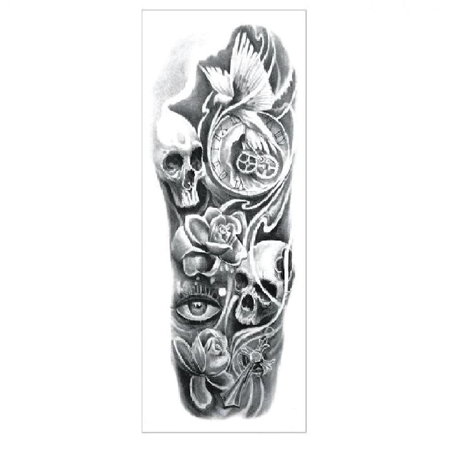Временна татуировка, времето и розите