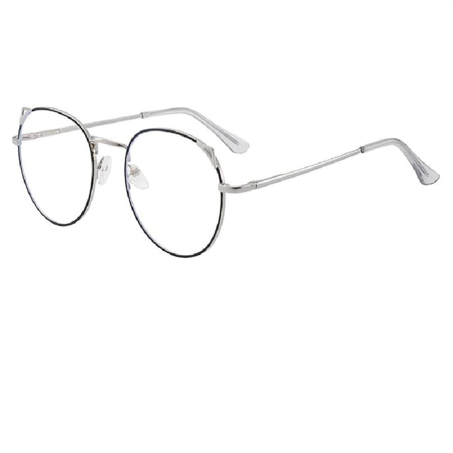 Бели очила с черен кант очила за компютър