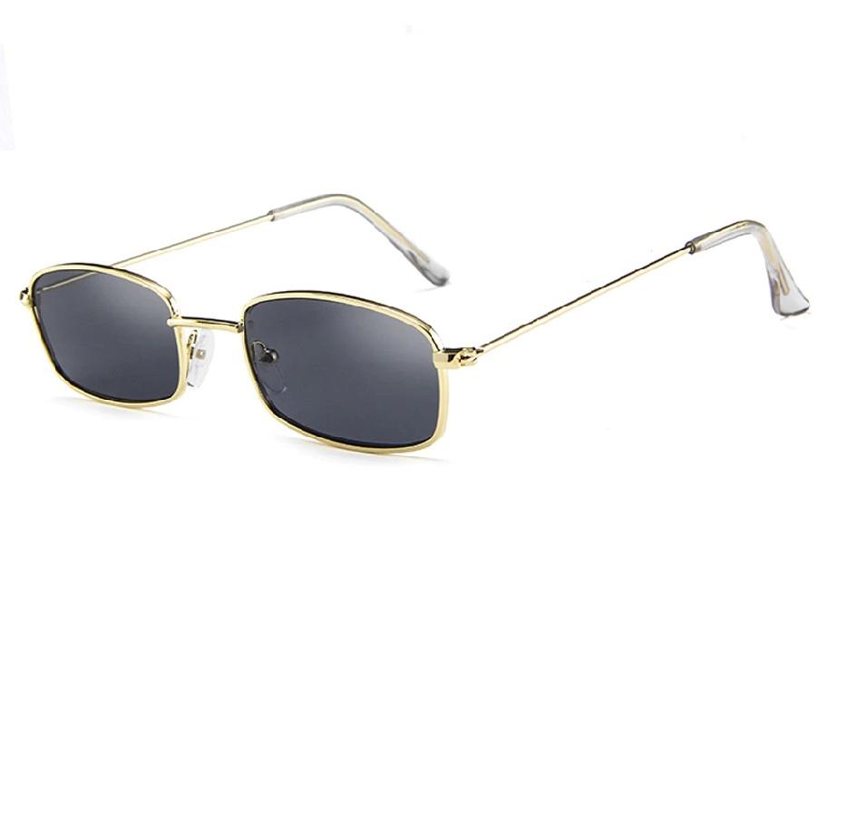 Очила с жълти рамки и черни стъкла