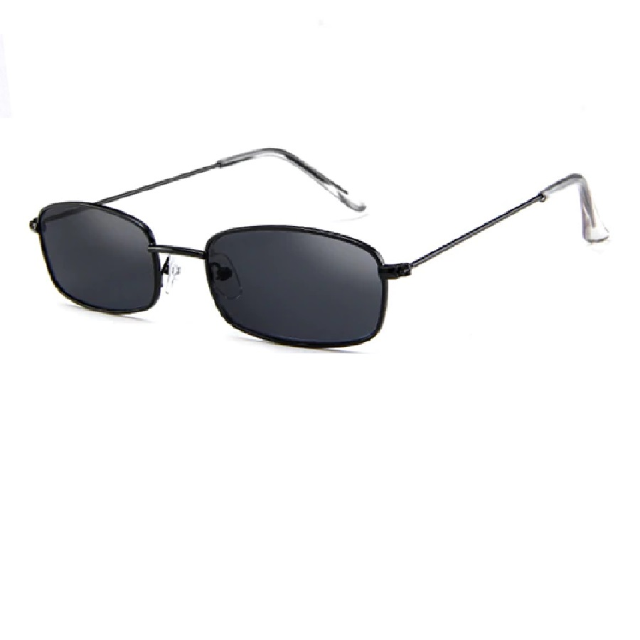 Слънчеви очила рамки от черен метал