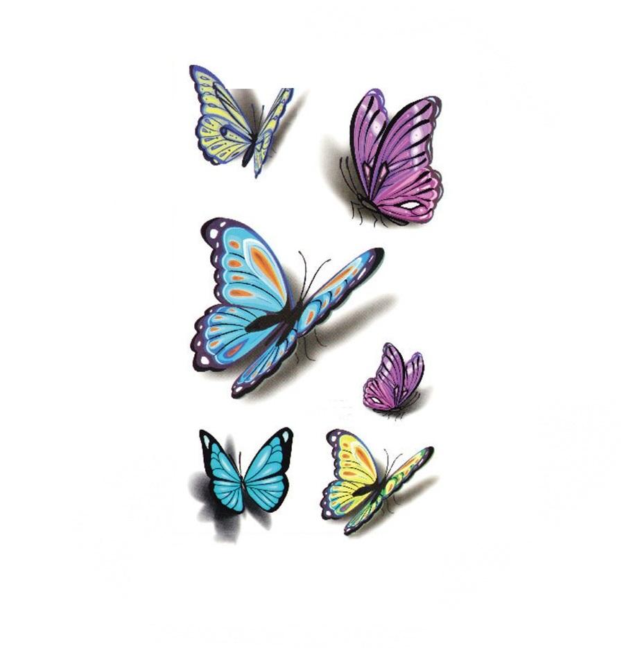 Ваденка татуировка с пеперуди