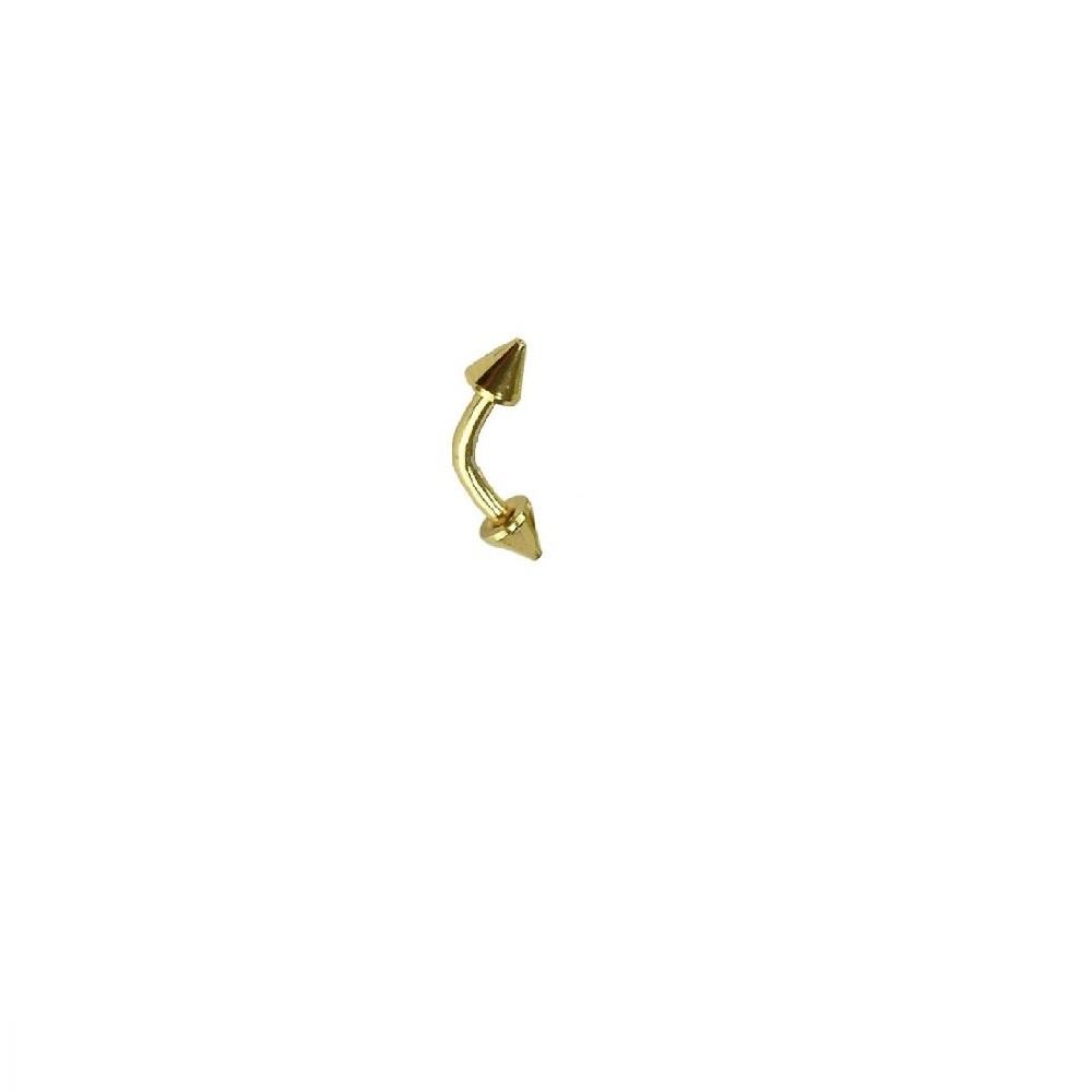 3 милиметра обеца имитация на злато