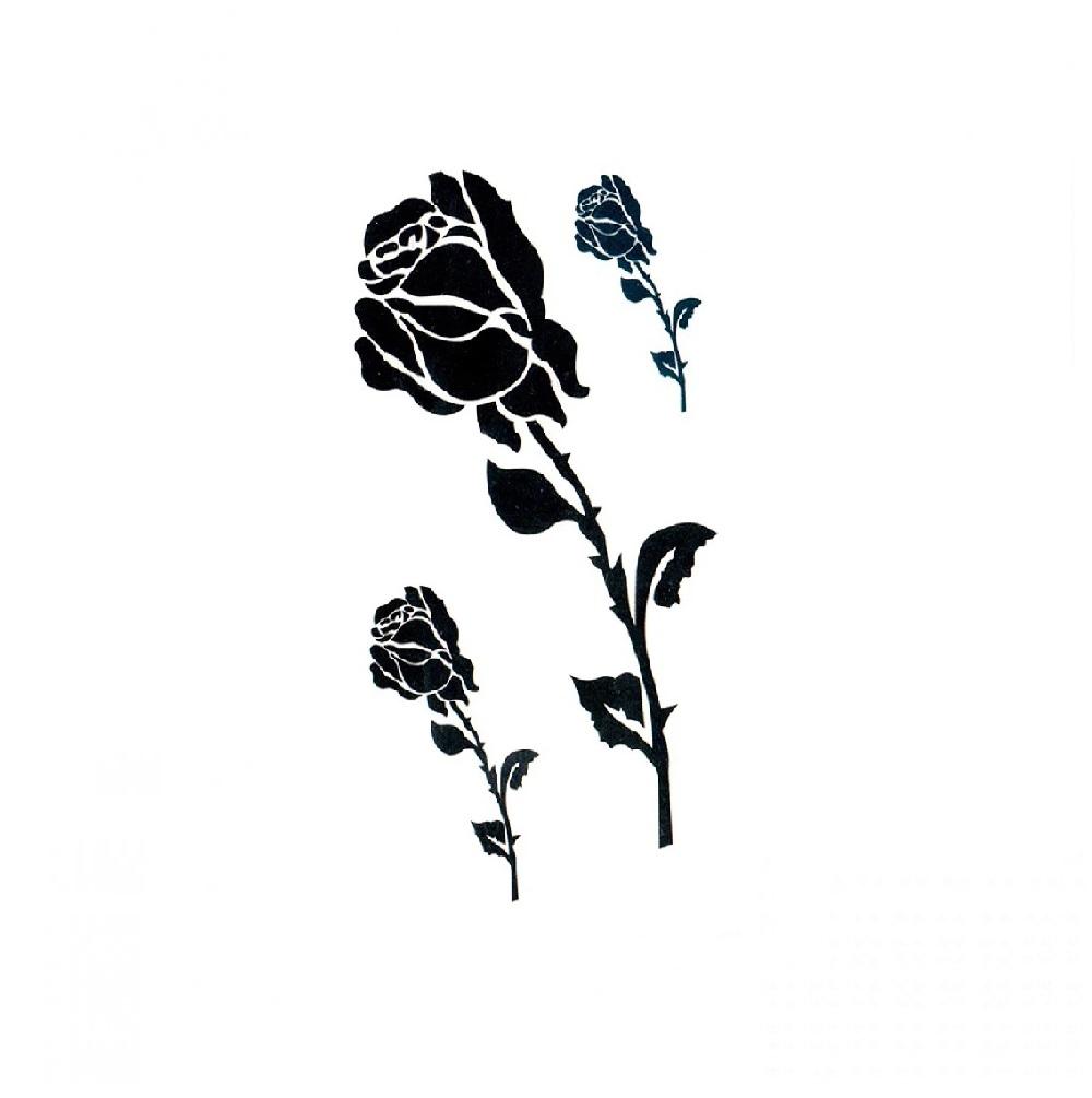3 рози временни татуировки
