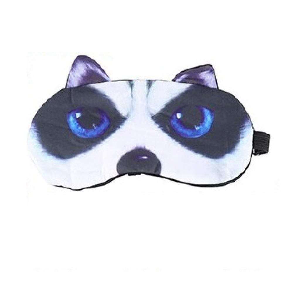 3D маска за сън с куче