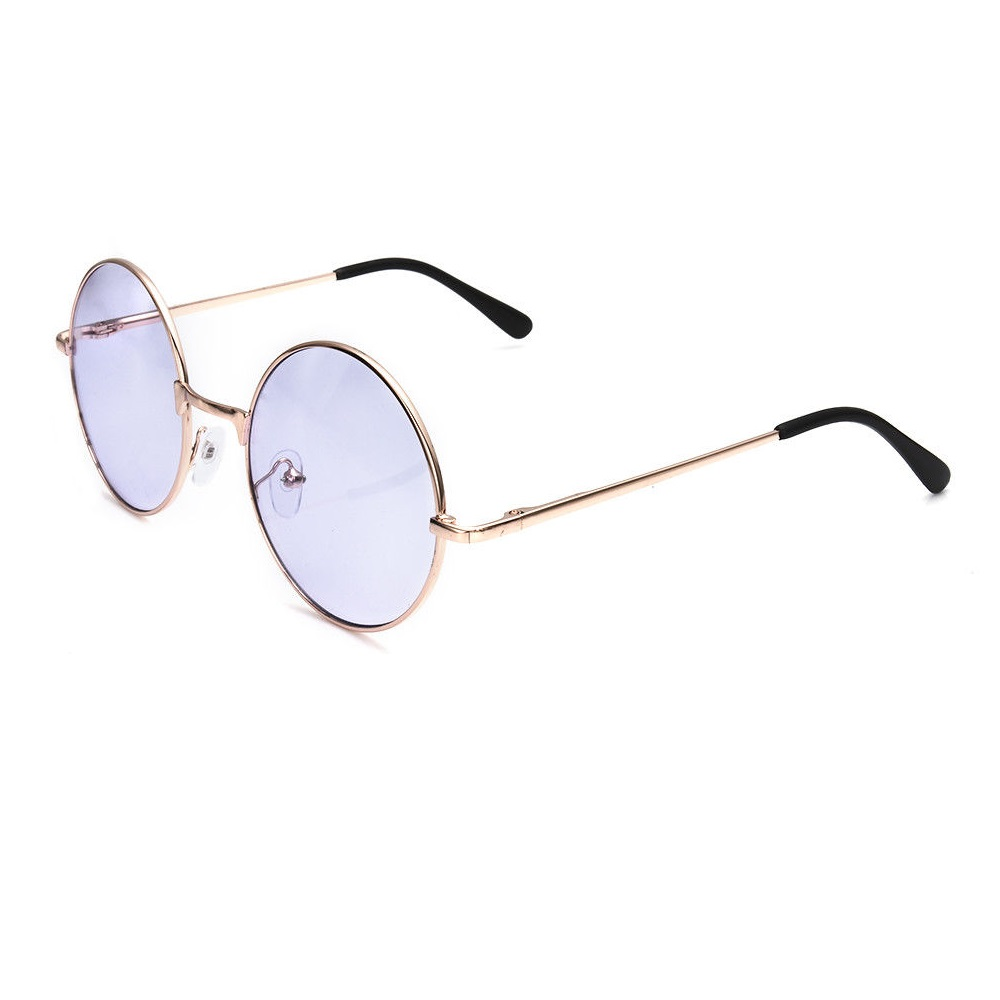 Кръгли лилави очила
