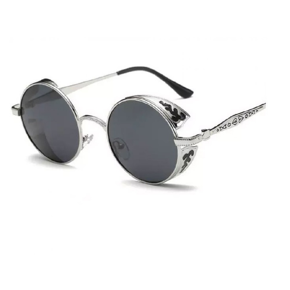 Слънчеви очила черни с релефни рамки