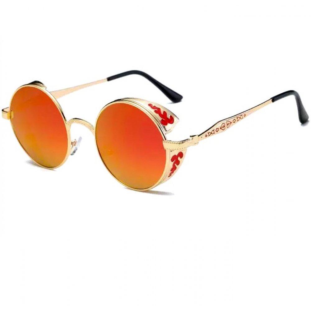 Слънчеви очила червено и жълто