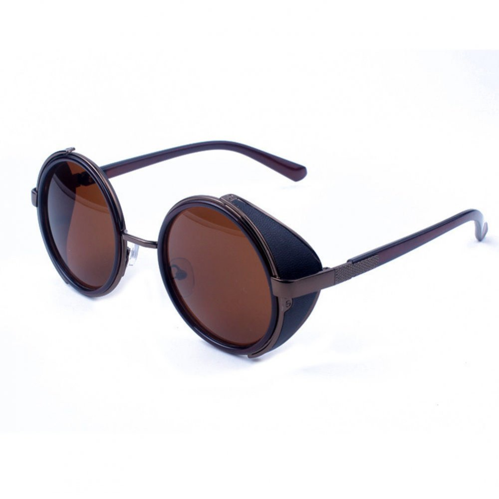 Слънчеви очила кафяви тъмни с капаци